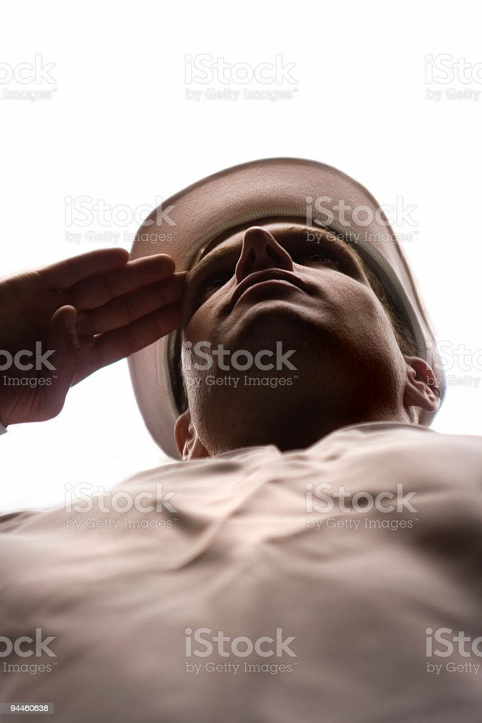 Veteran royalty-free stock photo