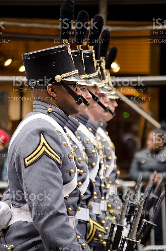 Veteran's Day Parade stock photo