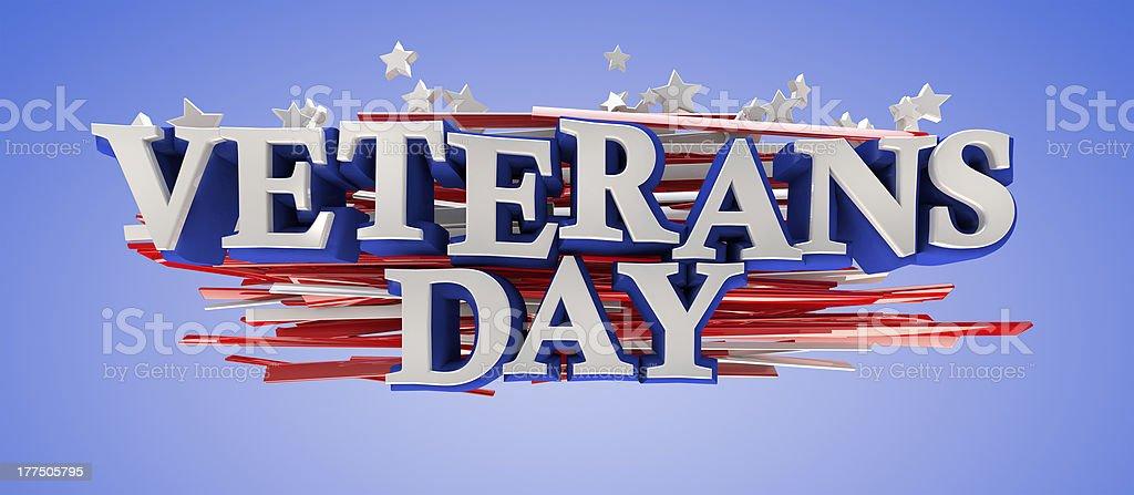 Veterans Day royalty-free stock photo
