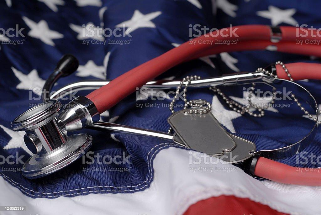 Veterans Healthcare stock photo