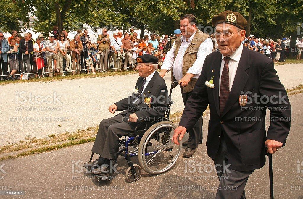 Veterans royalty-free stock photo