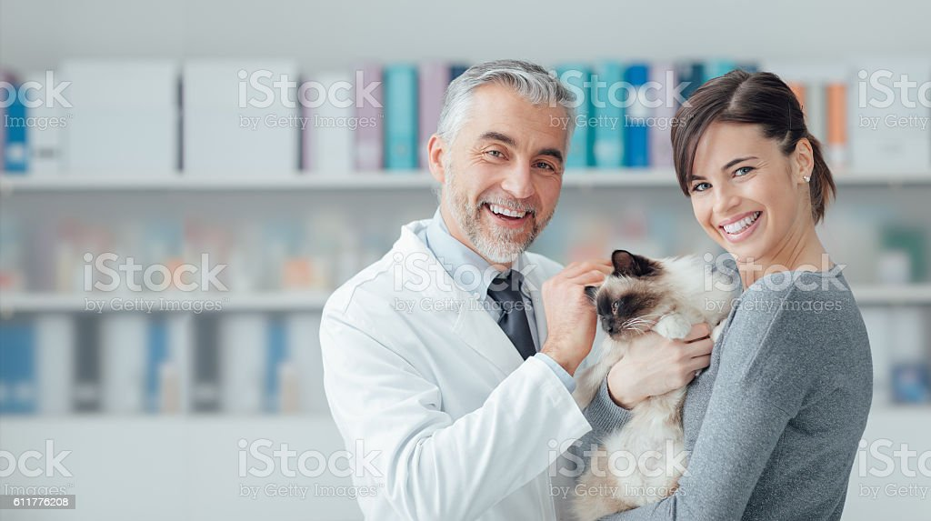 Veterinary clinic stock photo
