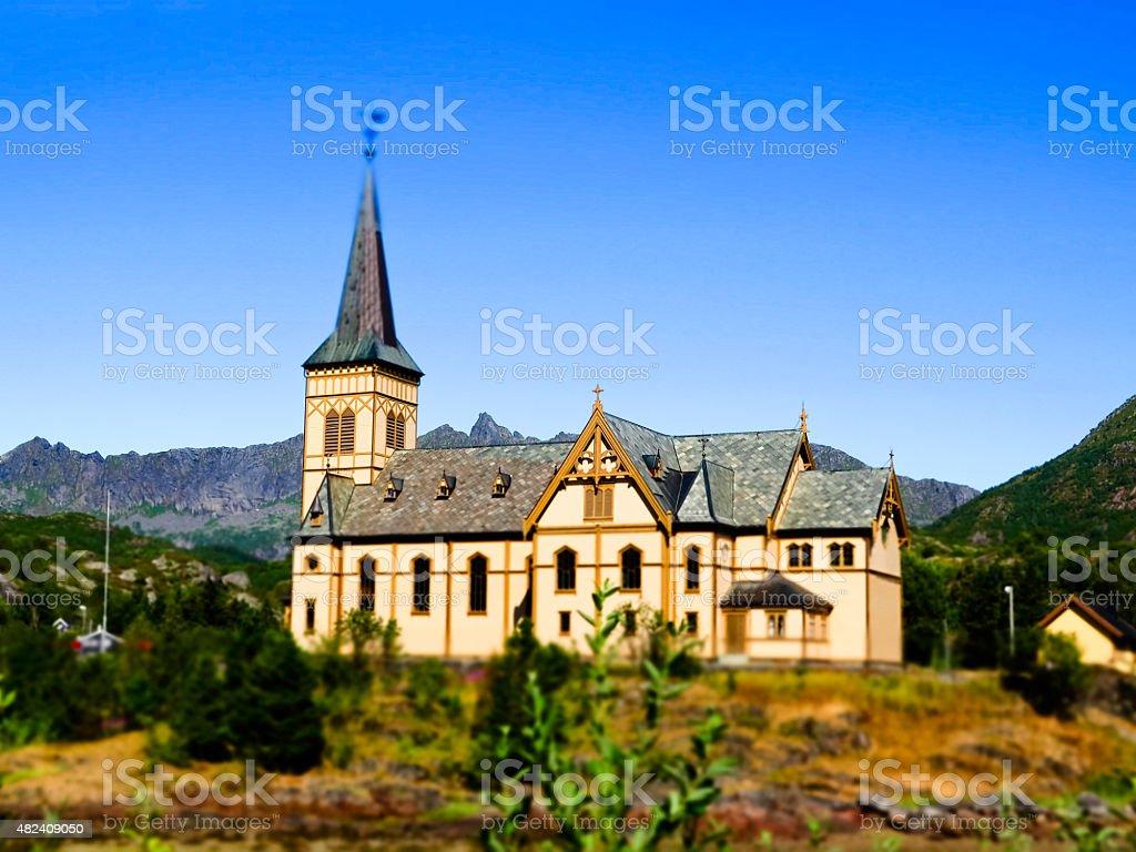 V?gan Church stock photo