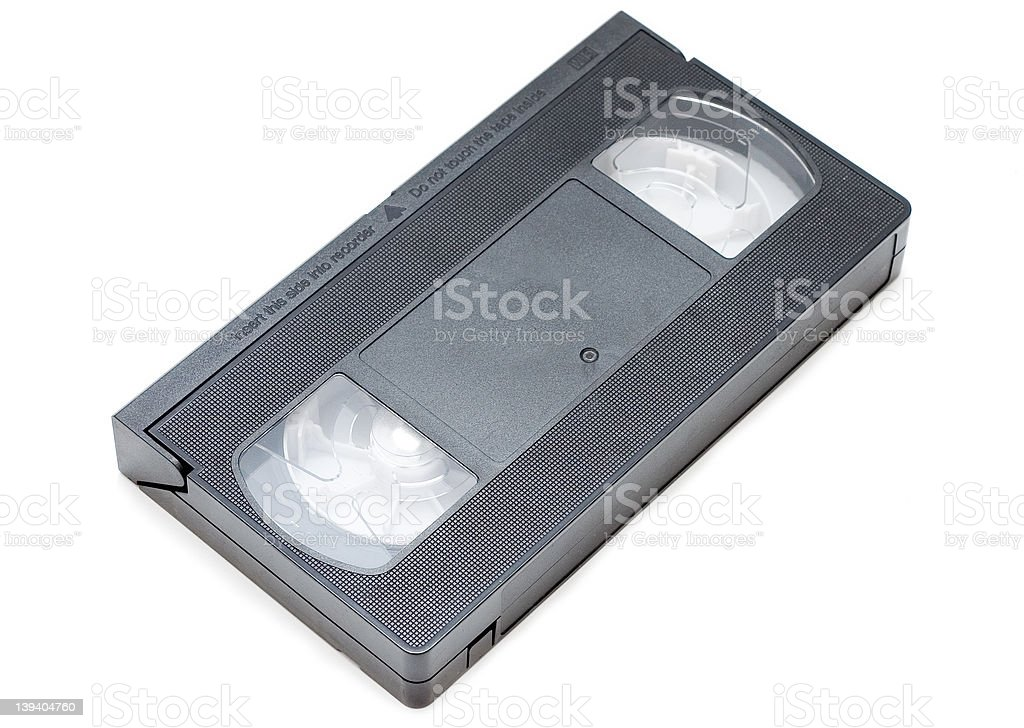 vhs cassette royalty-free stock photo