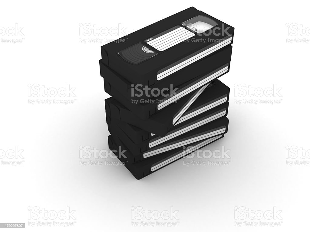 VHS royalty-free stock photo