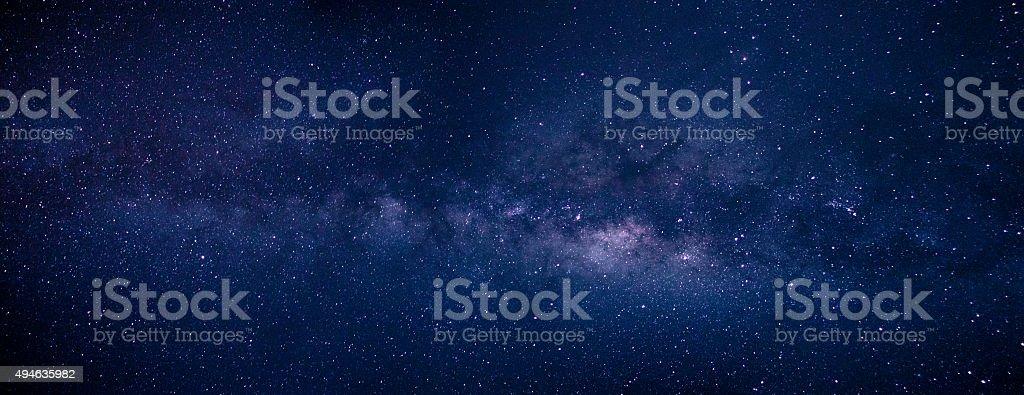 Via Láctea no Céu do Deserto do Atacama stock photo