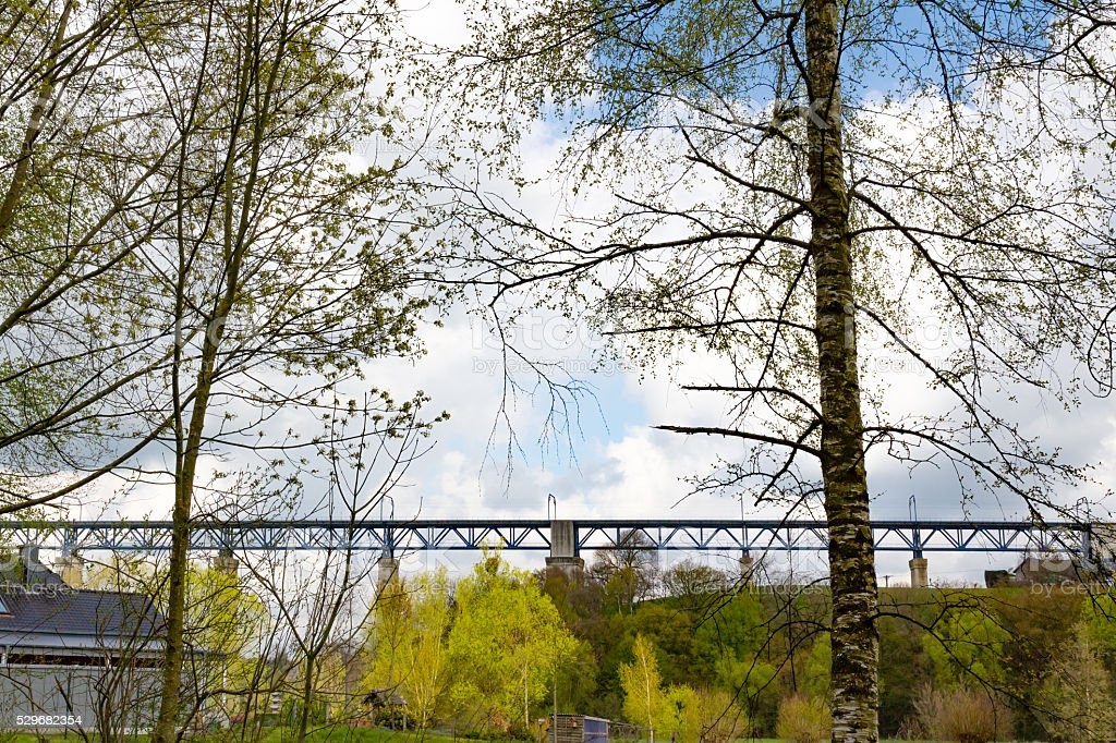 Viaduct of Moresnet stock photo