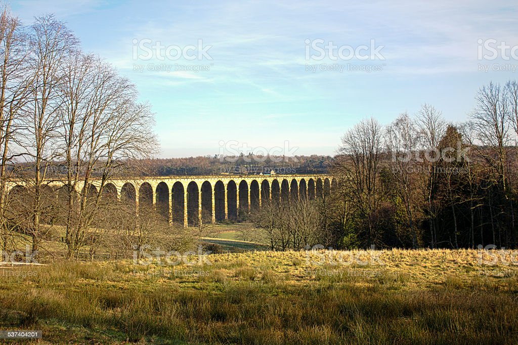Viaduct on Harrogate Ringway stock photo
