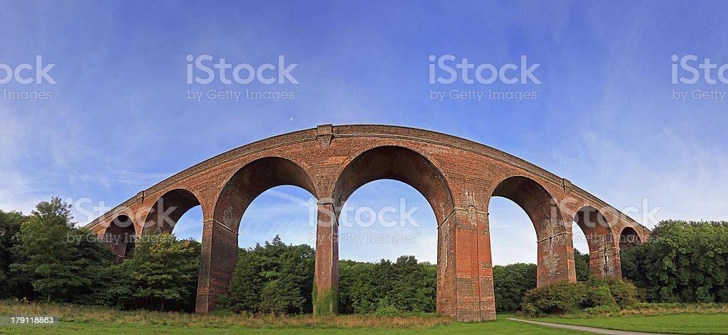 Viaduct Panorama stock photo