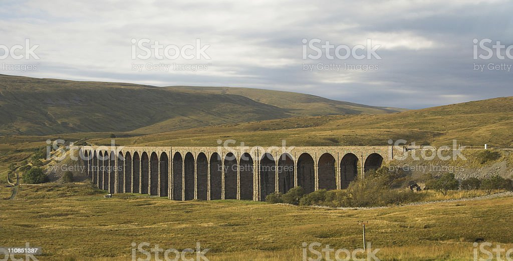 Viaduct stock photo
