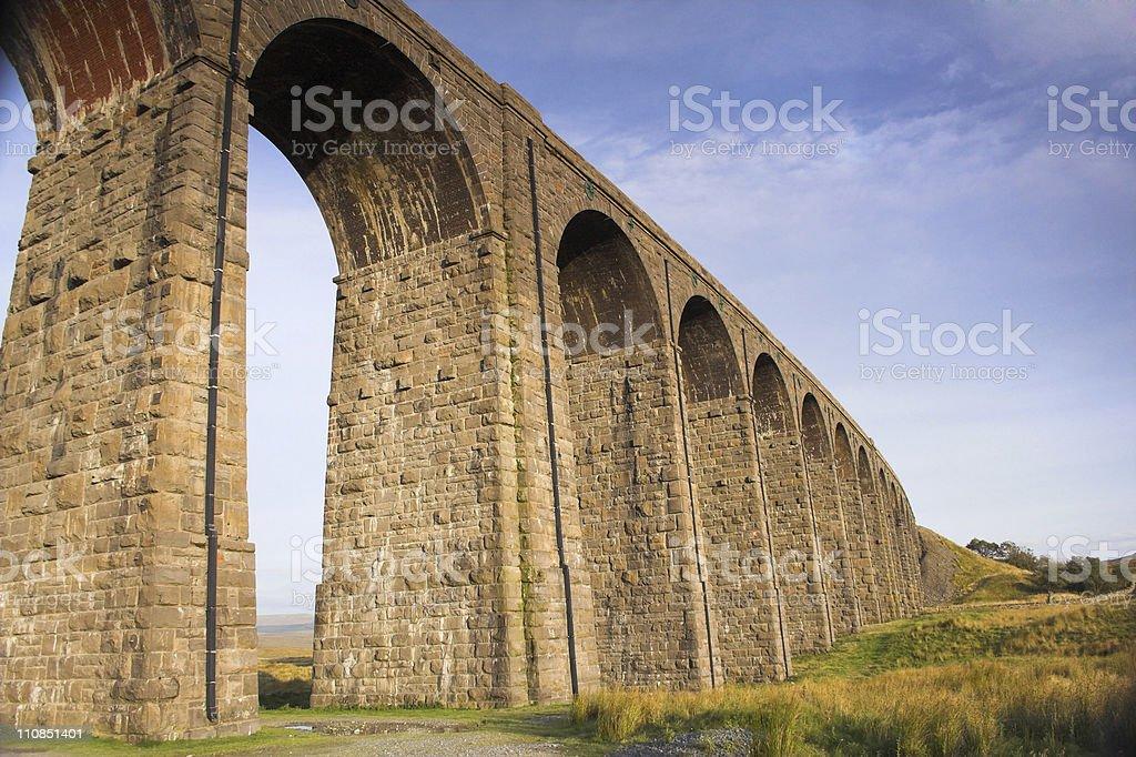 Viaduct royalty-free stock photo