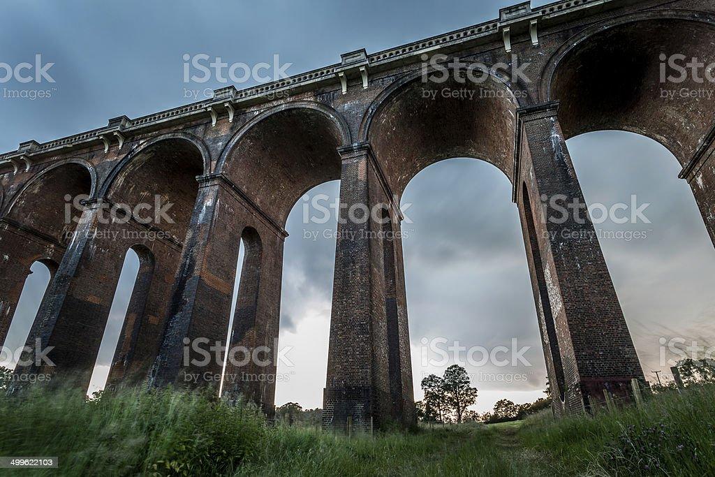 Viaduct stock photo
