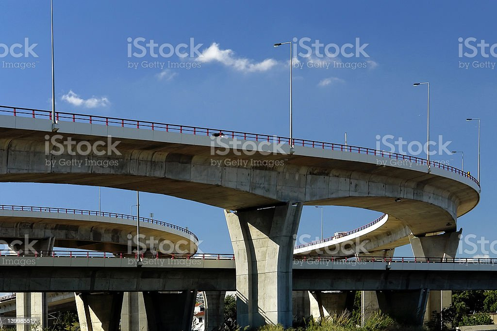 Viaducts stock photo