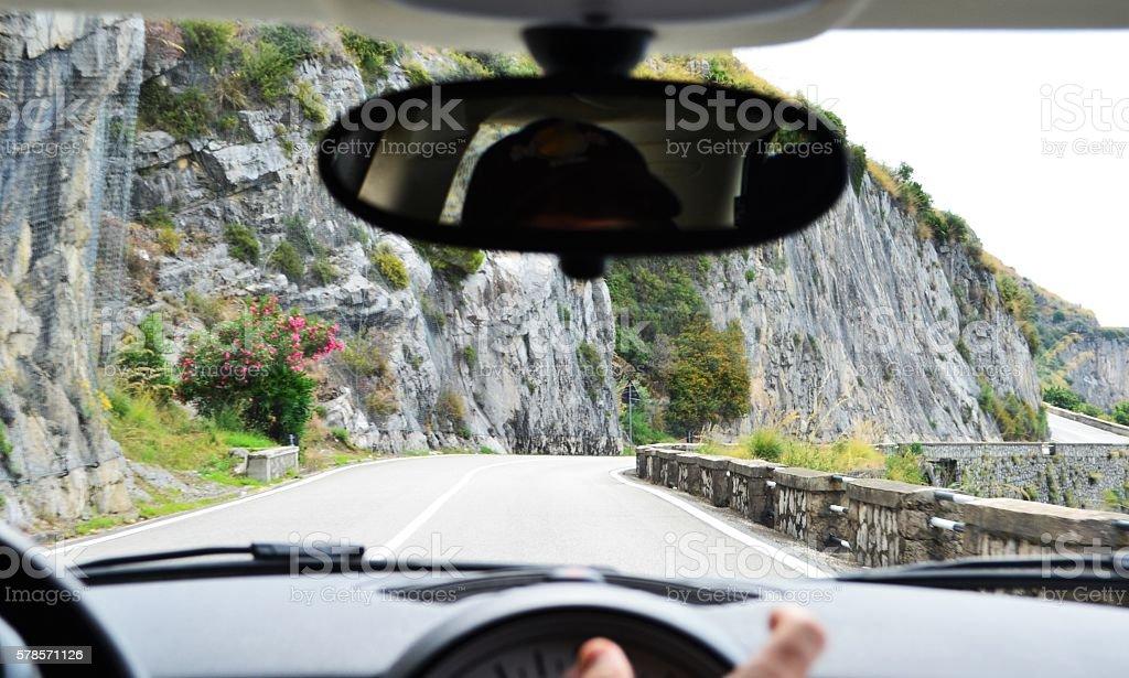 viaggio in auto stock photo
