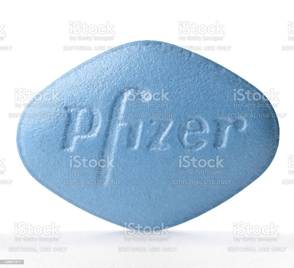 Viagra pill stock photo