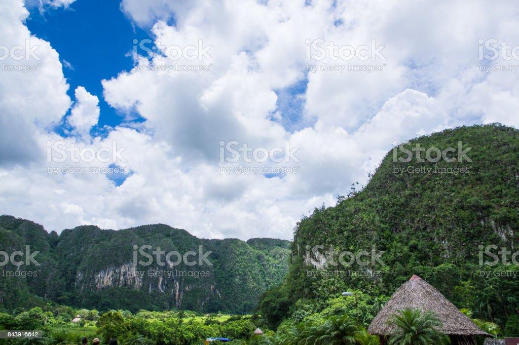 Viñales Valley, Cuba stock photo