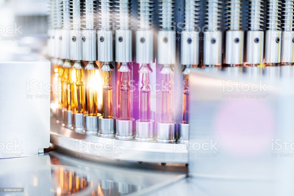 Vials medical stock photo