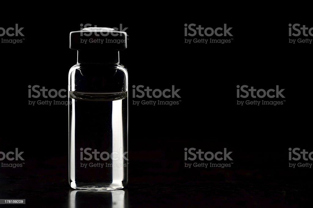 Vials of medications. royalty-free stock photo