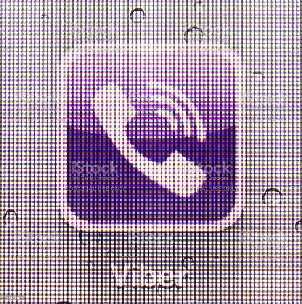 Viber royalty-free stock photo