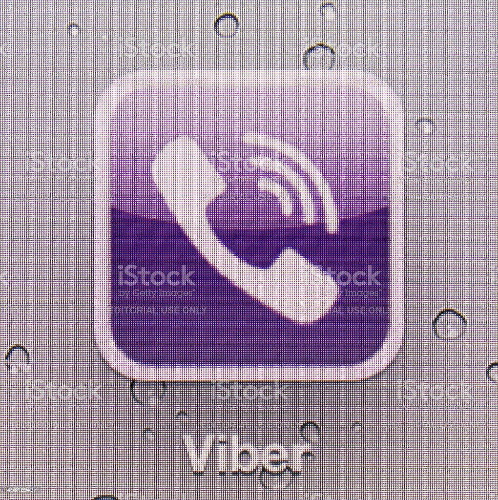 Viber stock photo