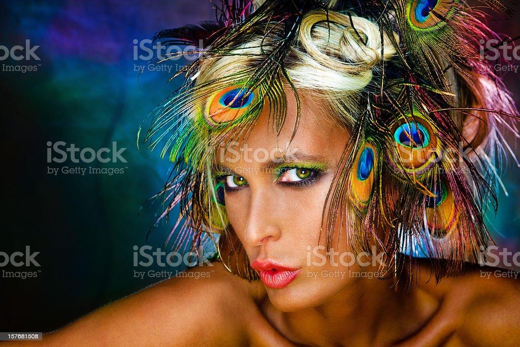 Vibrant beauty stock photo