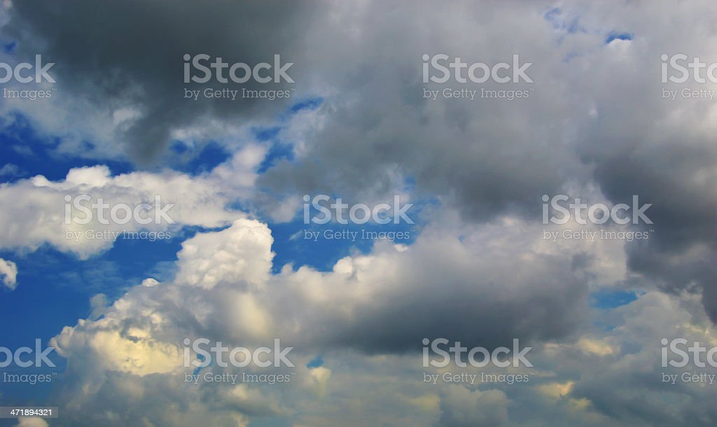 Vibrant Clouds royalty-free stock photo