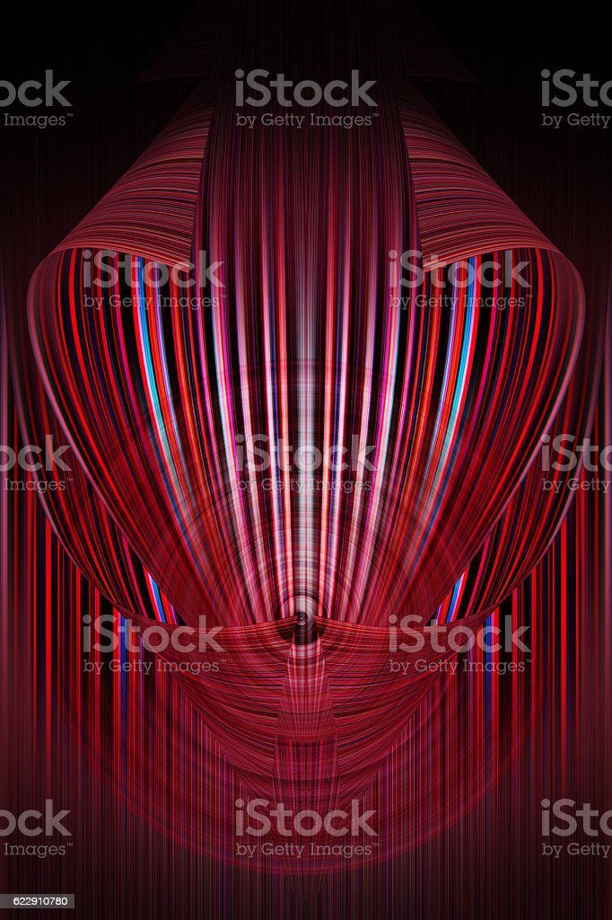 Vibrant Colored Technology Background stock photo