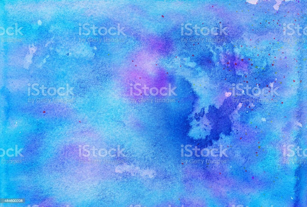 Vibrant colorful background with blue and purple vector art illustration