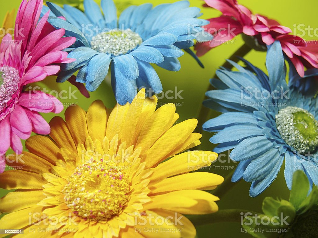 Vibrant Flower Background royalty-free stock photo