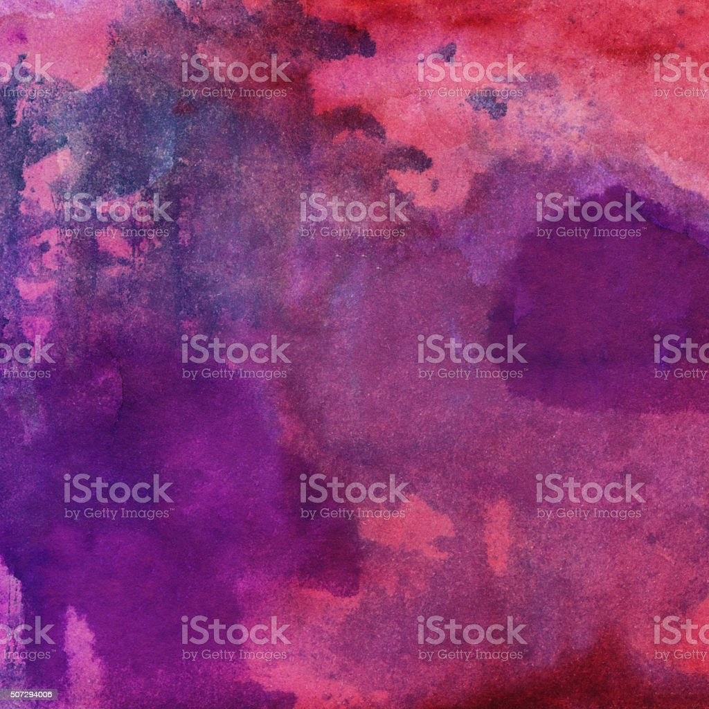 Vibrant hand painted textured background with multiple colors stock photo