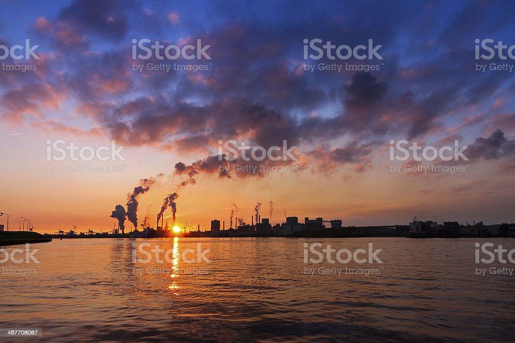 Vibrant industry stock photo