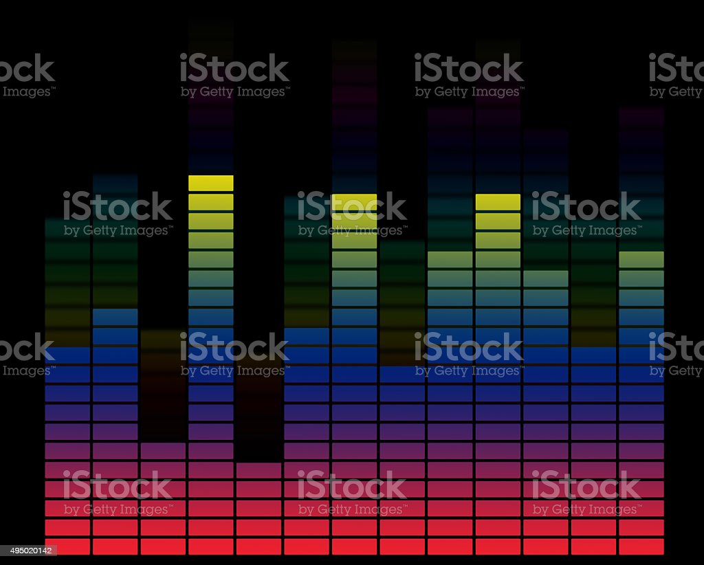 vibrant music stock photo