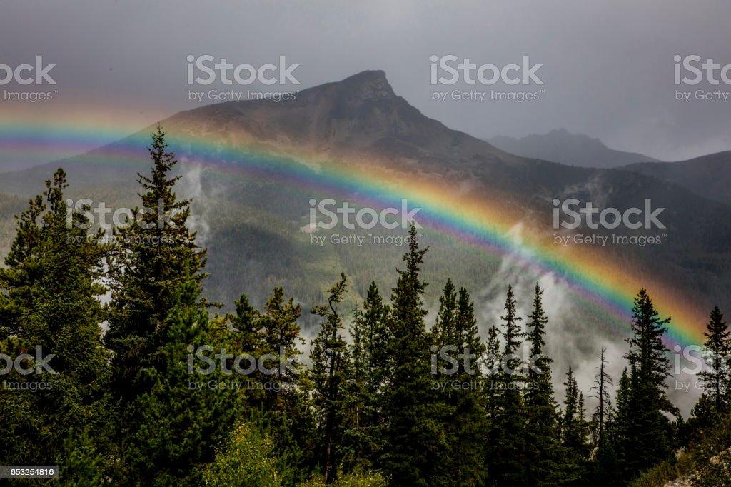 Vibrant Rainbow stock photo