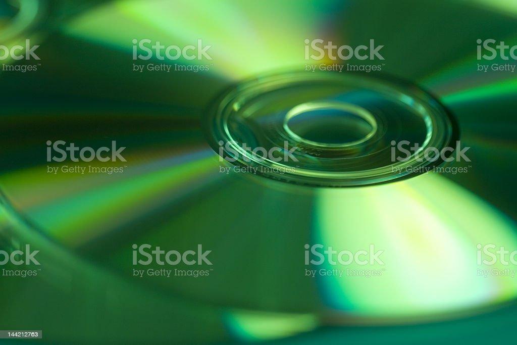 Séance dynamique de disques compacts photo libre de droits