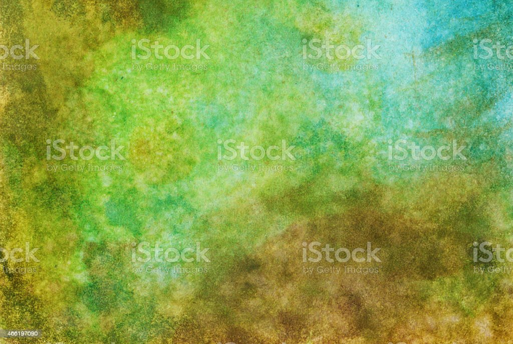 Vibrant textured background painted with watercolors stock photo