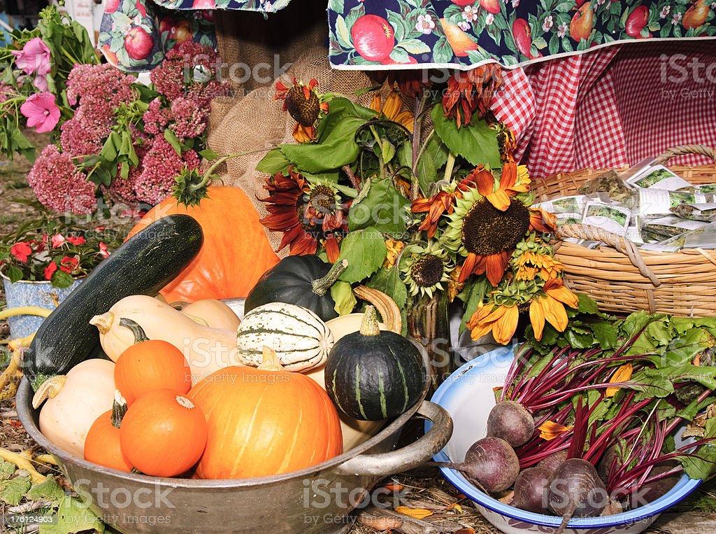Vibrant Vegetable Produce royalty-free stock photo