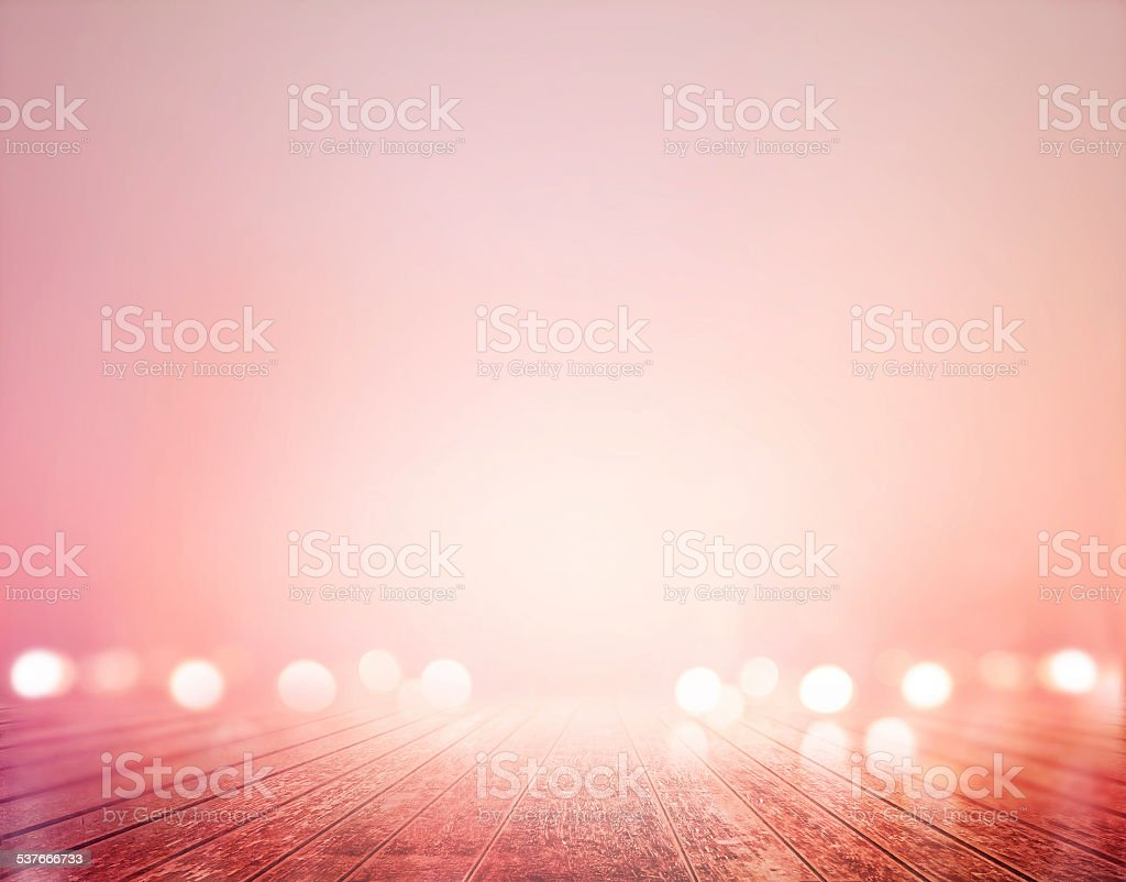 vibrant wooden floor pastel and bokeh, soft and blur concept stock photo