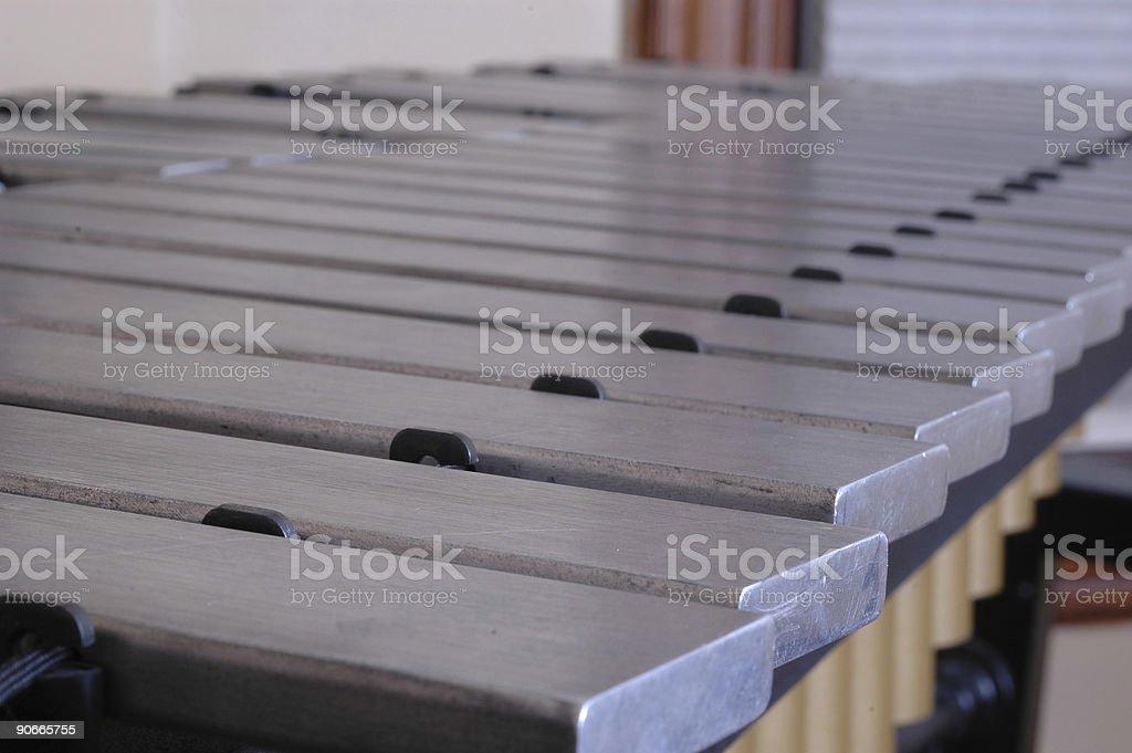 Vibraphone Keys stock photo