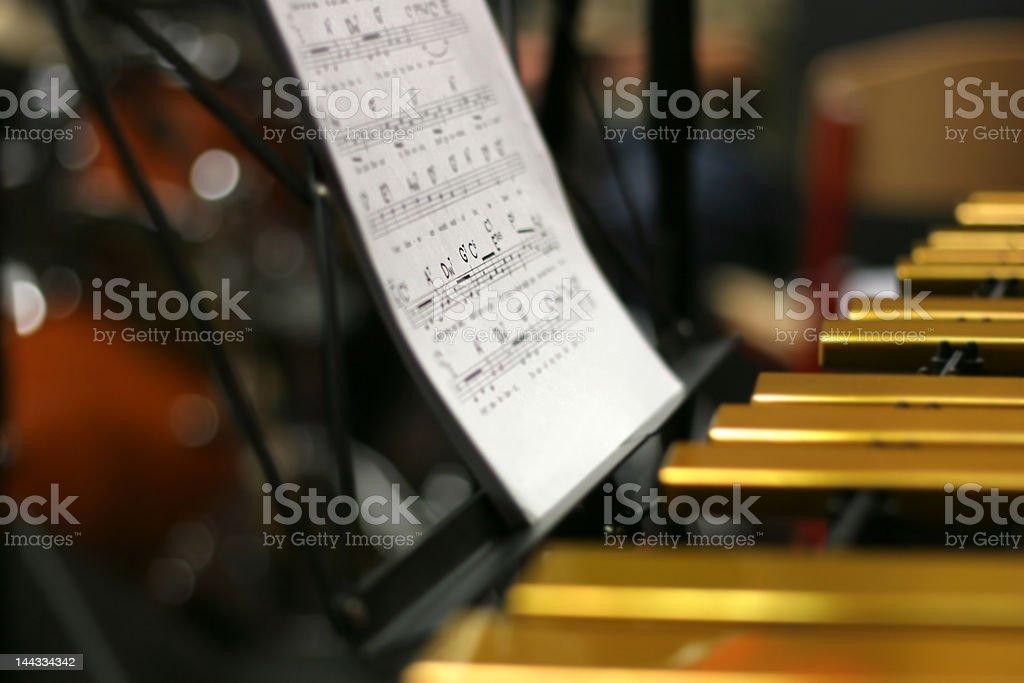 Vibraphone royalty-free stock photo