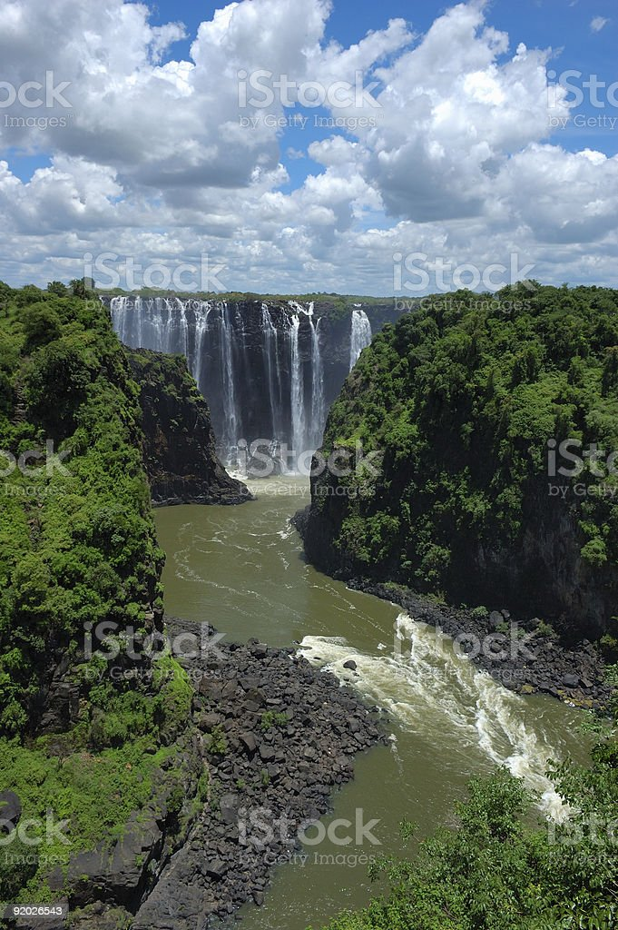 Vic Falls royalty-free stock photo