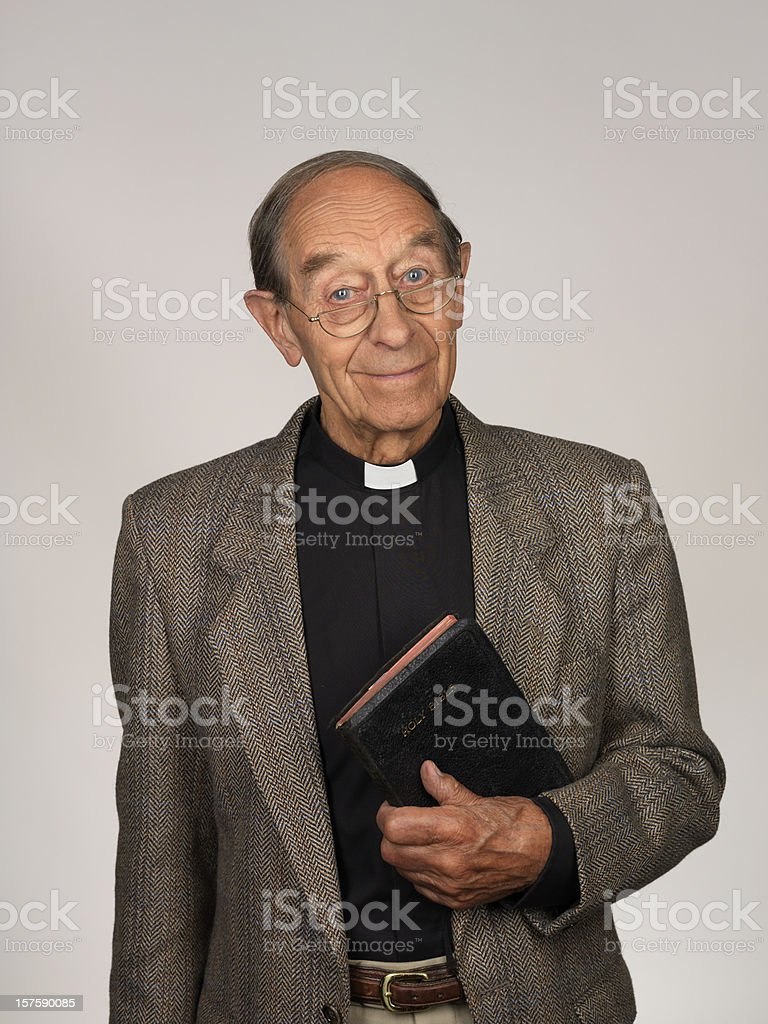 Vicar stock photo