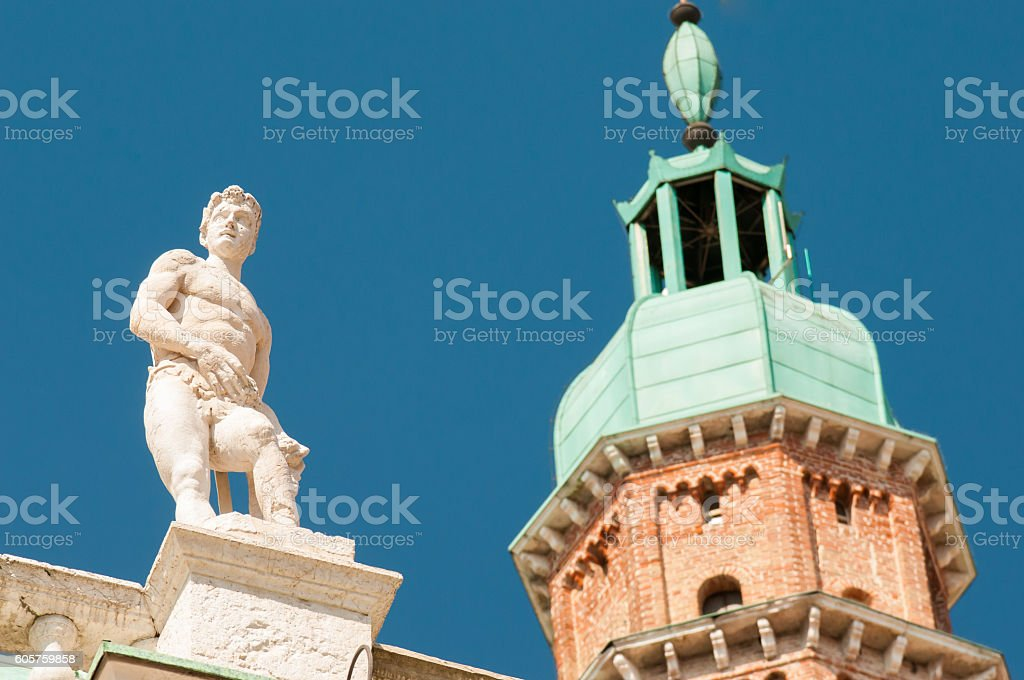 Vicenza sculptures stock photo