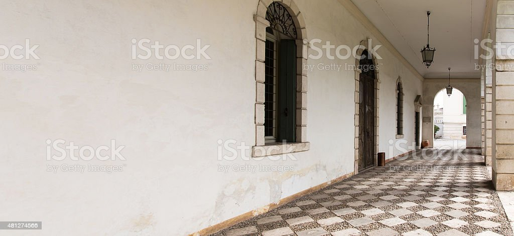 Vicenza, Veneto, Italy - Villa Cordellina Lombardi, built in 18t stock photo