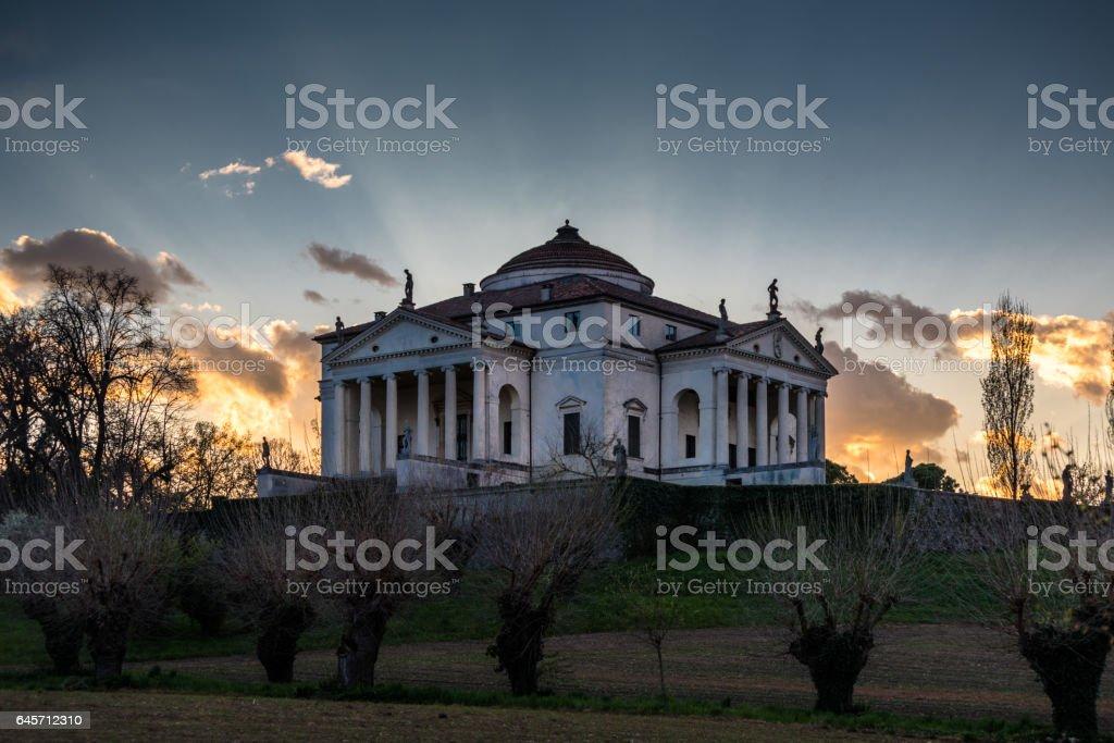 Vicenza,la Rotonda stock photo
