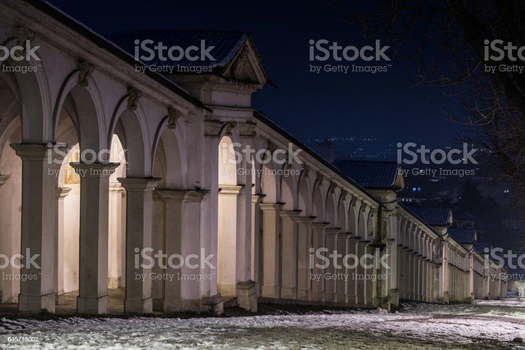 Vicenza,monte Berico stock photo