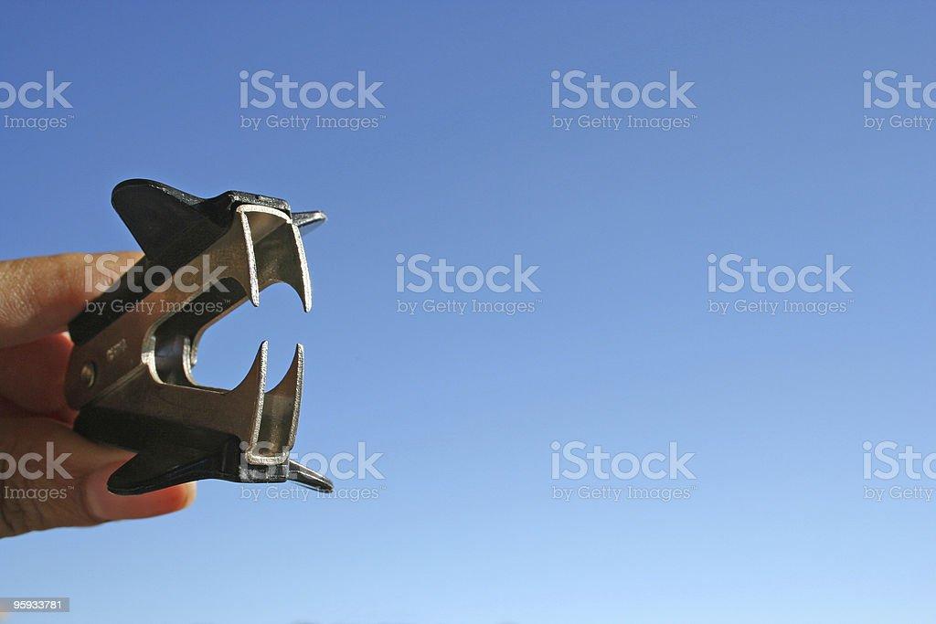 Vicieux des fournitures de bureau, Enlève-agrafes photo libre de droits