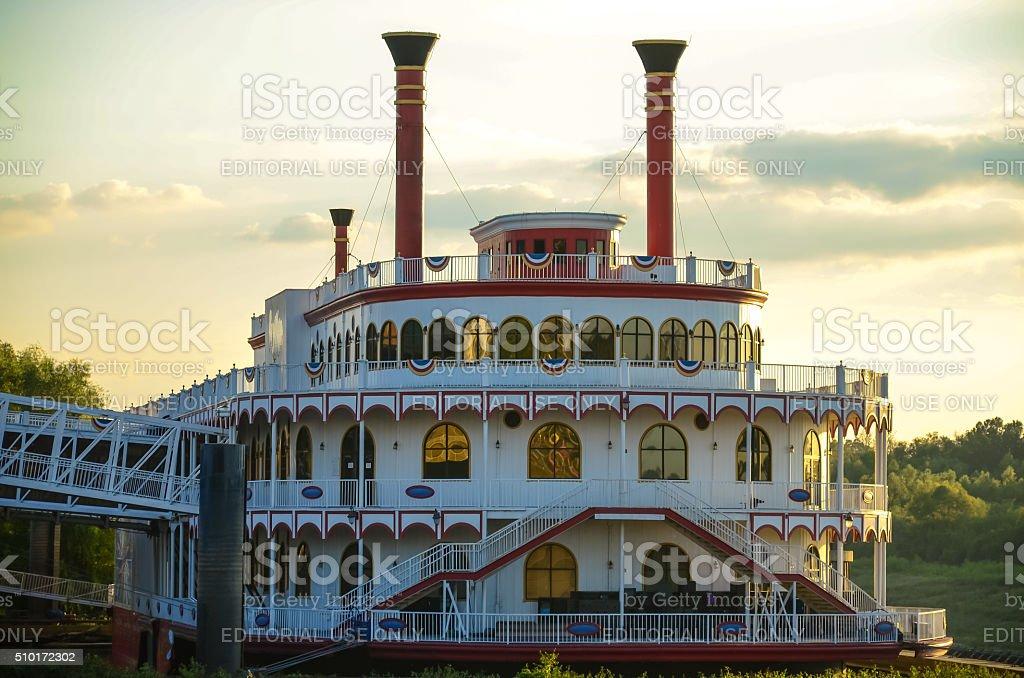 Vicksburg Riverboat Casino stock photo