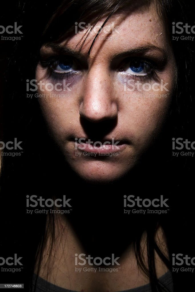 Victim No Longer royalty-free stock photo