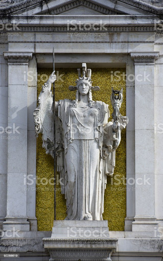 Victor Emmanuel Monument royalty-free stock photo