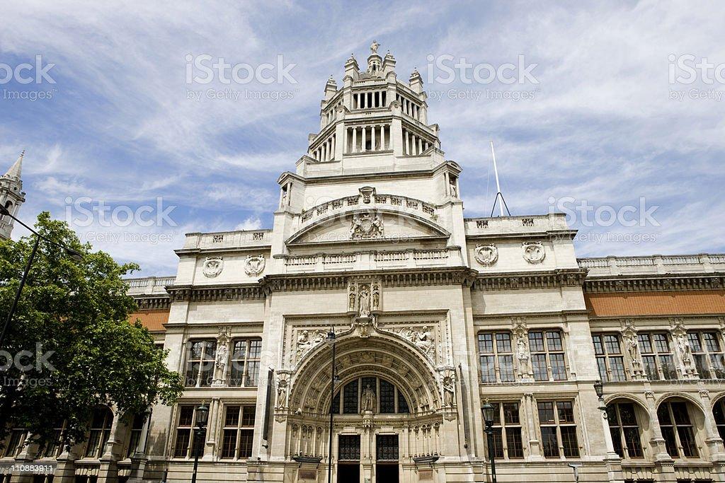 Victoria &Albert Museum, London stock photo